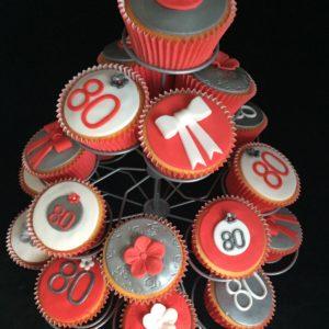 Verjaardagscupcake