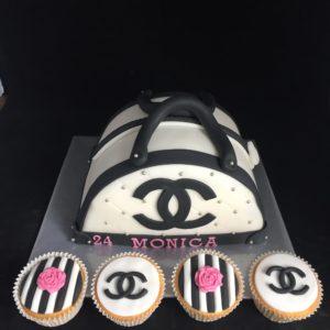 Gucci tas taart