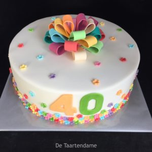 feest taart 40