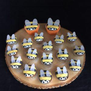 bijen cupcake