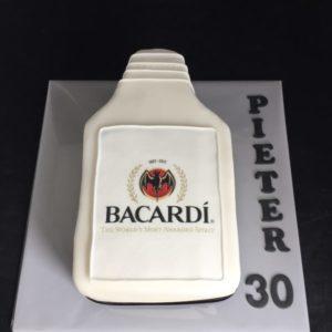 Bacardi taart