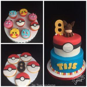 pokémon cupcake
