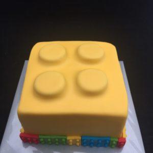 legoblok taart
