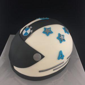 motor helm taart