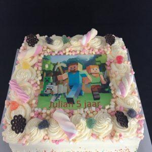 taart met slagroom