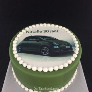 auto taart fiat 500
