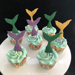 Zeemeermin Cupcake