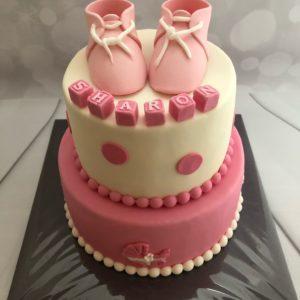 Babyschoentje taart