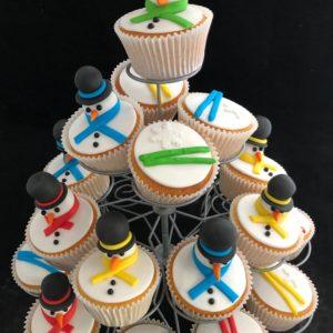 Cupcake winter