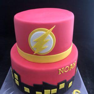 Flash taart