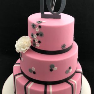 sweetsixteen taart