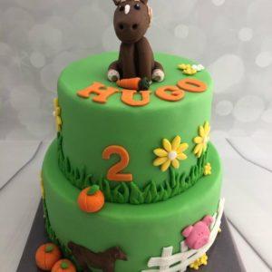 paardjes taart