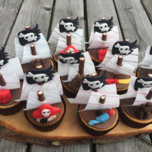 Piraten Cupcake
