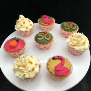 cupcake 50 jaar