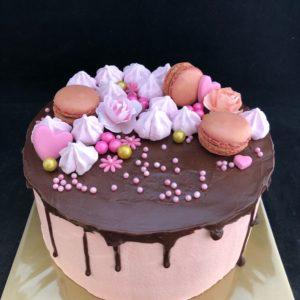 Dripcake met chocolade