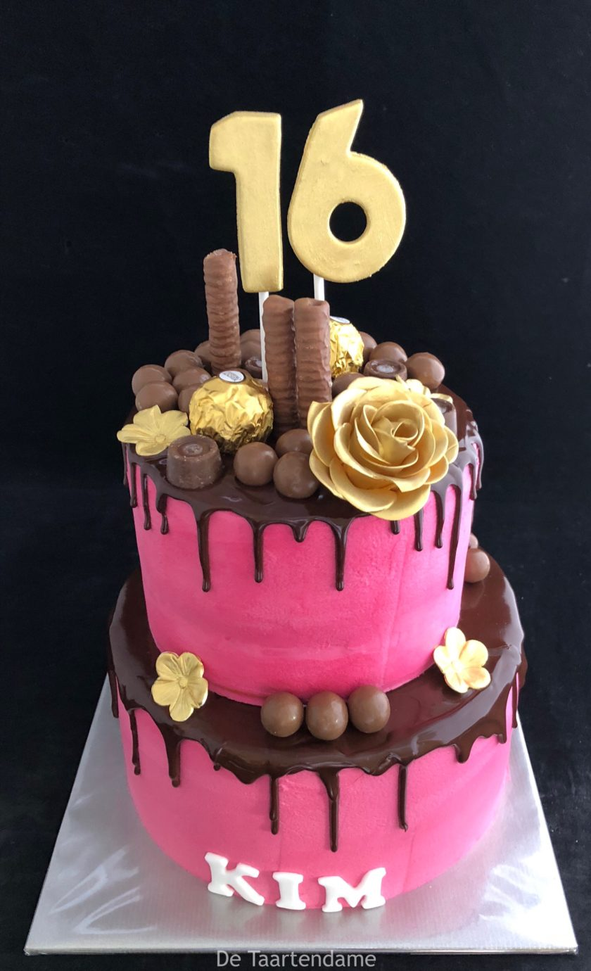 Uitgelezene Sweet Sixteen – Taarten| Bruidstaarten | Cupcakes | De Taartendame AE-44