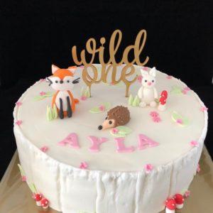 Wild one taart