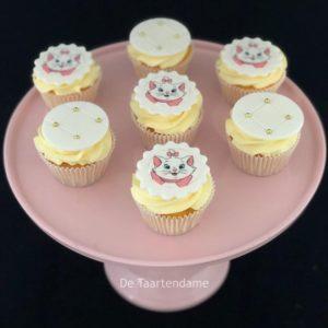 Cupcake met poes