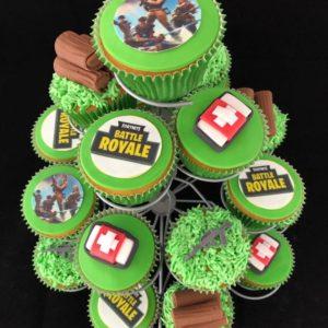 Fortnite cupcake