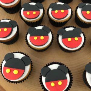 Muis cupcakes