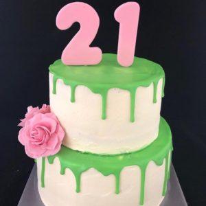 21 taart