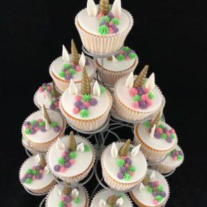 cupcake hoorntje