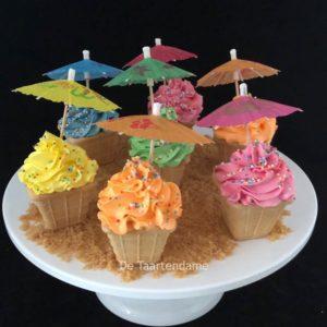 Zomerse Cupcake
