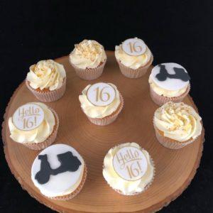 cupcakes 16 jaar