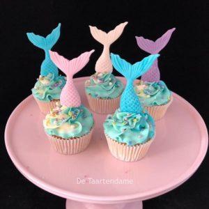 Cupcake met Vis