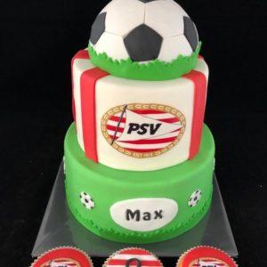 PSV taart