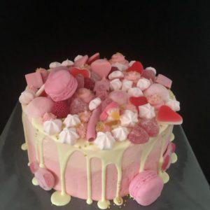 Dripcake met snoep