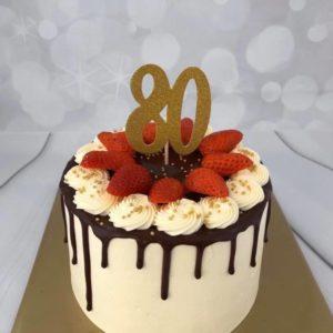 80 jaar taart