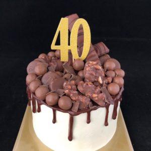 Chocoladedriptaart
