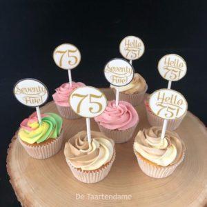 TwoColor cupcake