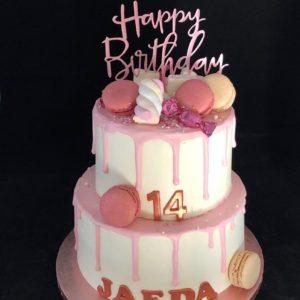 Verjaardagtaart drip