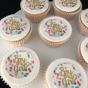 boy or girl cupcake
