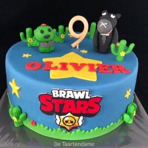 Brawl Stars taart