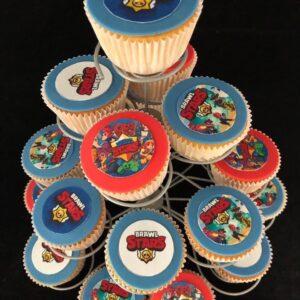 Brawl Stars Cupcake