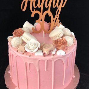 30 verjaardagstaart