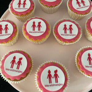 Wereld Meisje cupcakes