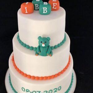 taart met beertje