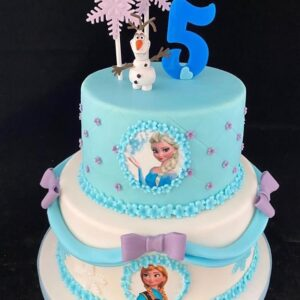Ijsprinses taart