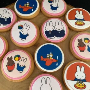 Konijn cupcakes
