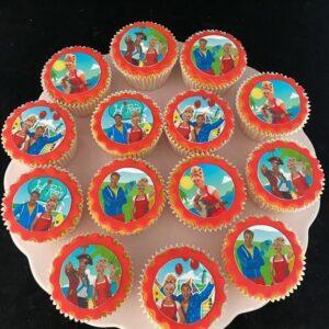 Juf Roos cupcakes