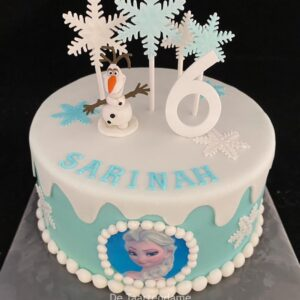 Frozen Taart