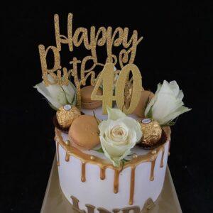 taart voor 40e verjaardag