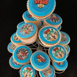 Brawlstars cupcakes