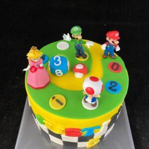 Super Marioparty taart