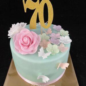 70 jaar taart