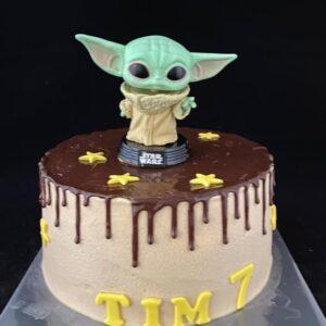Baby Yoda Taart